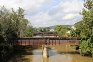 Old Wheeling Creek Railroad Bridges