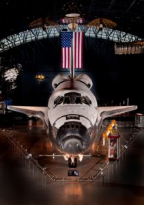 Space Shuttle Discovery at the National Air and Space Museum Udvar-Hazy Center