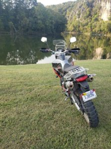 dual sport motorcycle by New River
