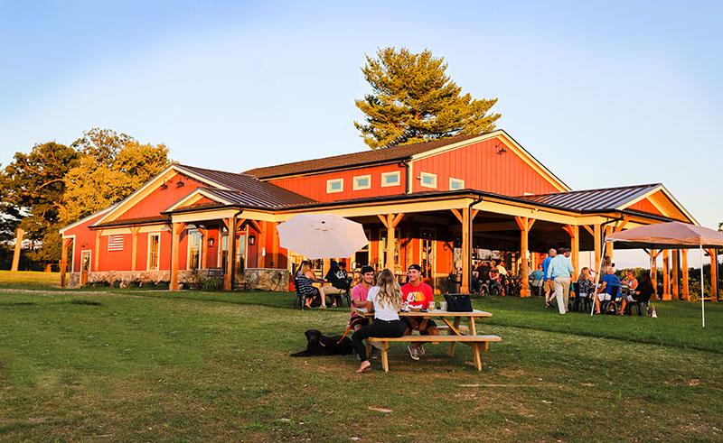 Lone Oak Farm Brewery in Olney, MD