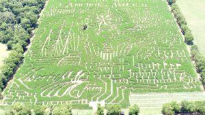 34 acre corn maze