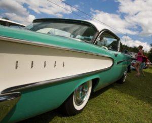 Cars on Display at Lehigh Valley's Das Awkscht Fescht Festival