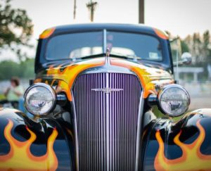 Car on Display at Lehigh Valley's Annual Wheels of Time Rod & Custom Jamboree
