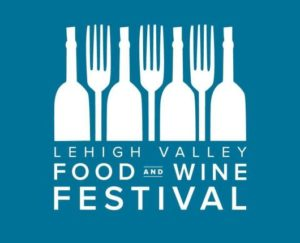 logo for the Lehigh Valley Food & Wine Festival